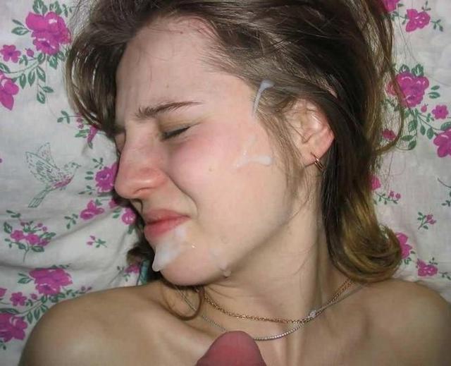 Коллекция фото женщин со спермой на лице - секс порно фото